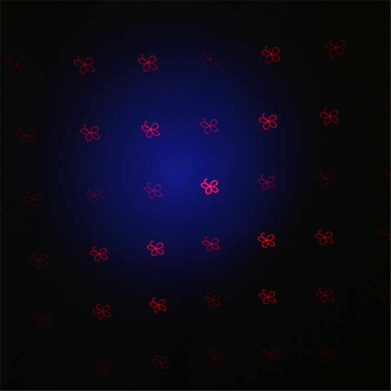 Светодио дный светодиодный сценический свет Рождественские огни Открытый Рождественский лазерный проектор движущаяся головка светодио дный светодиодный пар лазерный свет США штекер