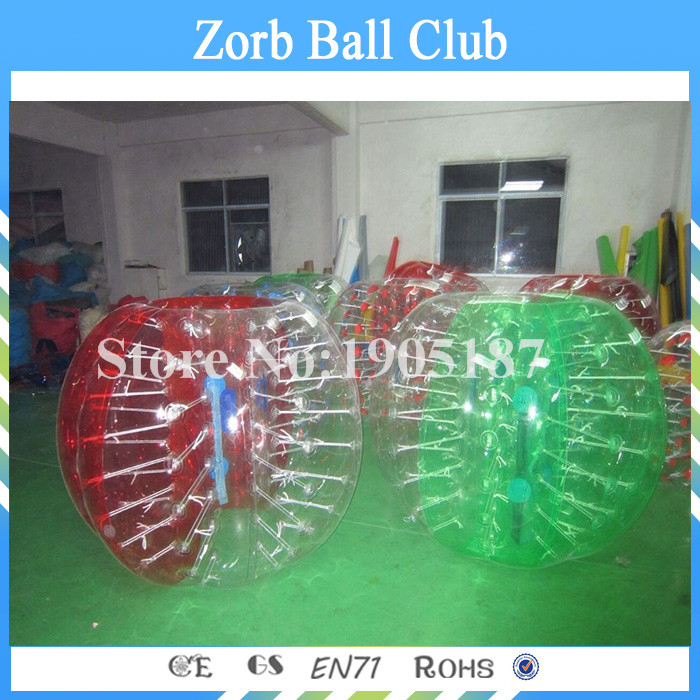 Free Shipping Factory Direct PVC Human Zorb Bubble Ball For Football, Inflatable Human Soccer Bubble,Bumper Balls
