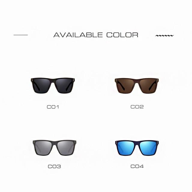 AOFLY Men Polarized Sunglasses Vintage Male Sunglasses Polaroid lenses Fashion Brand Designer Goggles Oculos Gafas De So AF8033 4