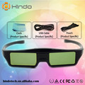 Активных Затвора 3D Очки Универсальный Аккумуляторная РФ/Bluetooth 3D Очки Для Sony Panasonic Sharp Toshiba Samsung Проектор ТВ