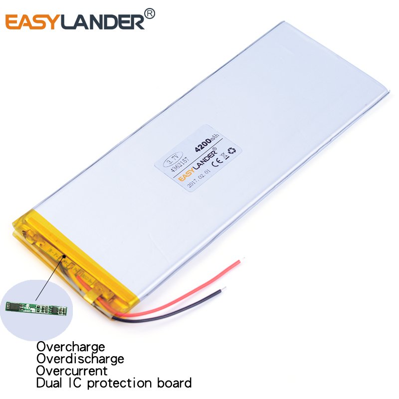 4362157 3.7V 4200mAh Rechargeable li Polymer Li-ion Battery For best U.S. e8hd aigo M50D battery M50 M80 M802 Battery 4060160