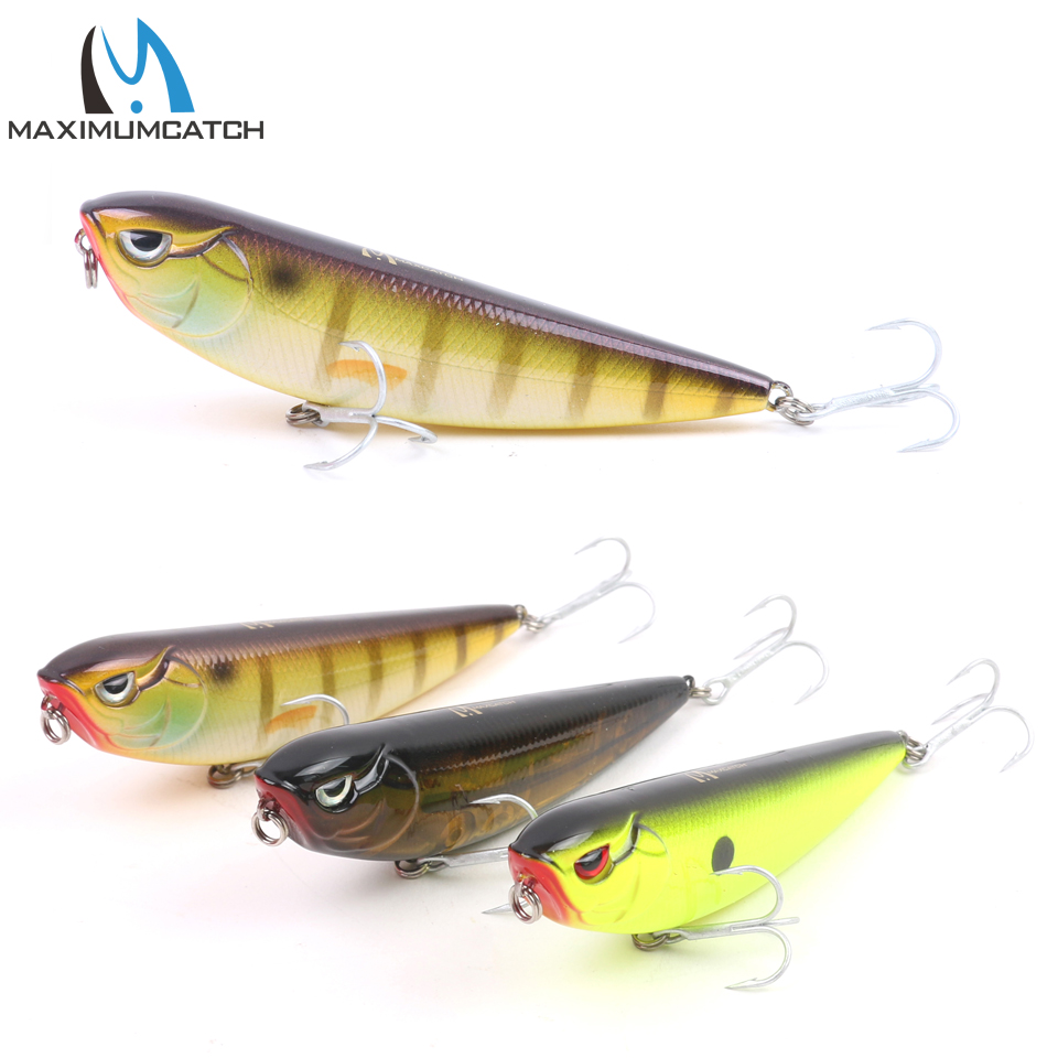 Maximumcatch 1pc bass fishing lures with vmc hooks hard for Bass fishing lures