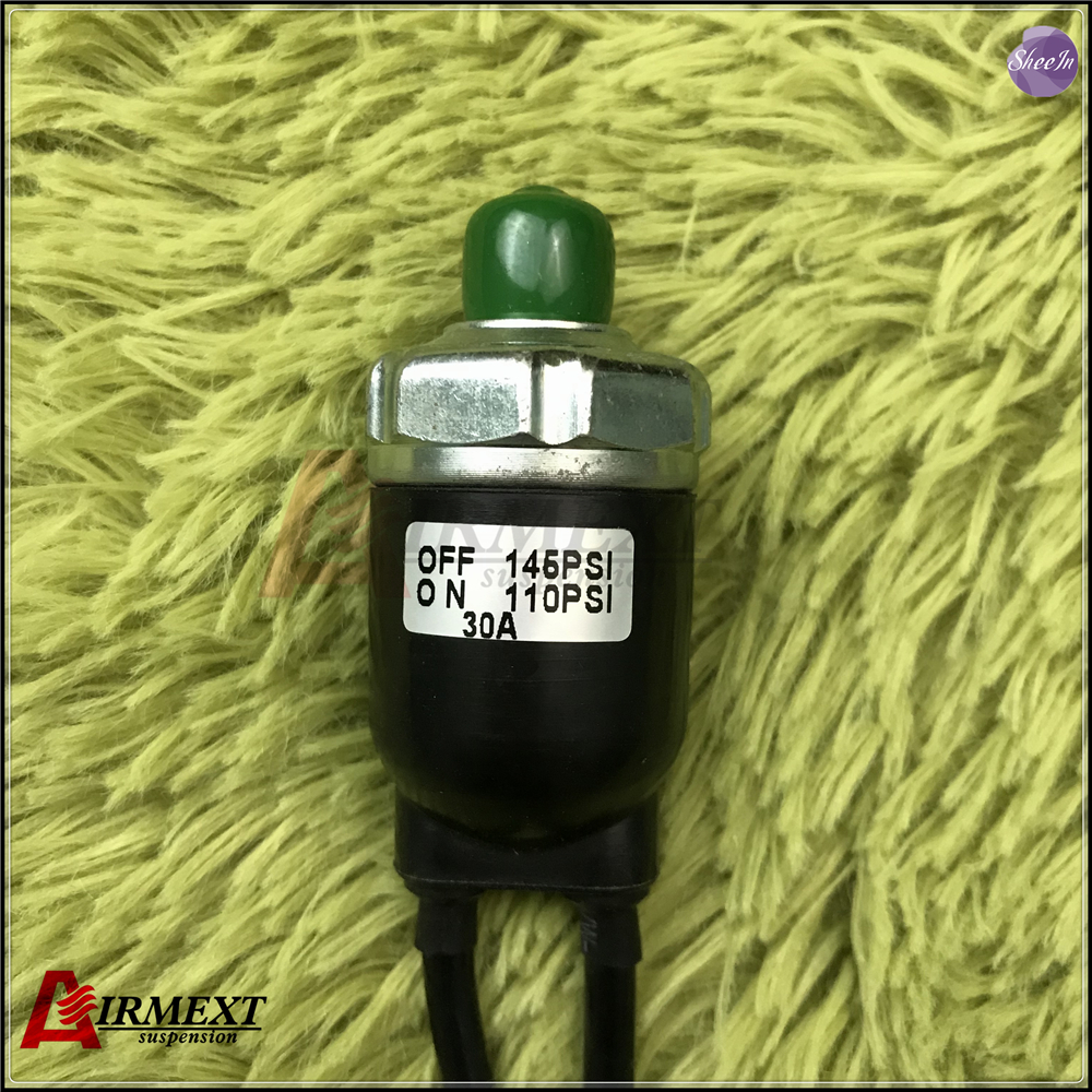 VIAIR sealing pressure switch/110psi ON/145psi OFF  Penumatic air suspension system  tunning vehicle parts shock absorberVIAIR sealing pressure switch/110psi ON/145psi OFF  Penumatic air suspension system  tunning vehicle parts shock absorber