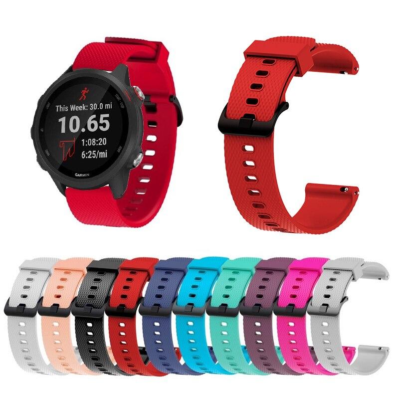 20mm Wrist Strap For Garmin Venu / GarminMove 3 Replacement Band Watch Strap For Garmin Forerunner 245 / 645 Wristband Accessory