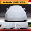 Suv coche de la cubierta de nieve la sombrilla Exterior resistente a la lluvia Protector de cubierta Exterior accesorios para 2011-2012 X3 X5 X6