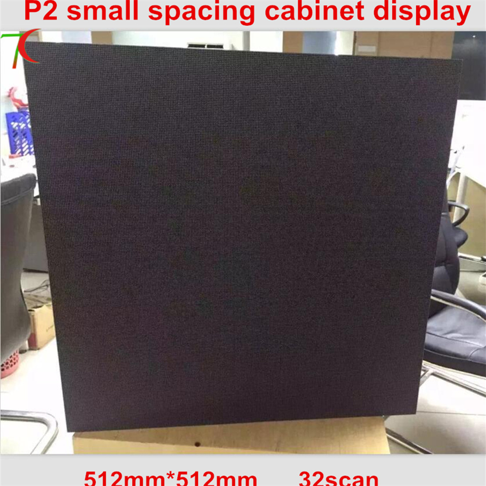 512*512mm 32scan P2 Die-casting aluminum cabinet for hd real led display
