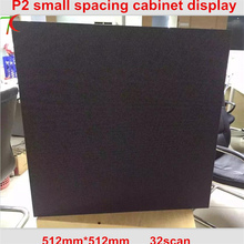 Купить с кэшбэком 512*512mm 32scan P2 Die-casting aluminum cabinet