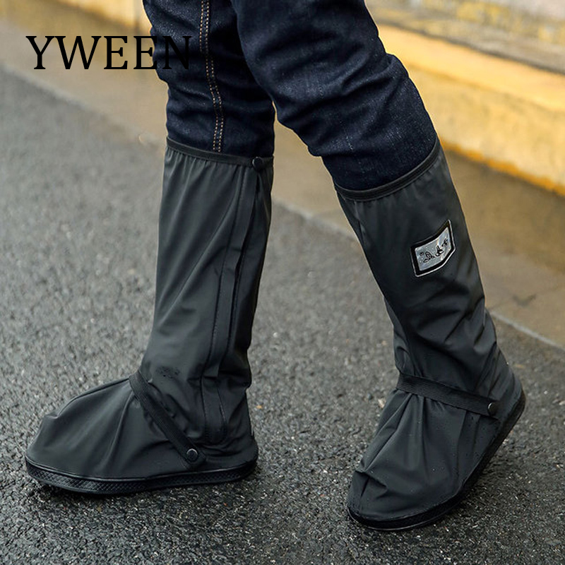 YWEEN Wholesale Waterproof Protector Shoes Boot Cover Motorcycle Cycling Bike Rain Boot Shoes Covers