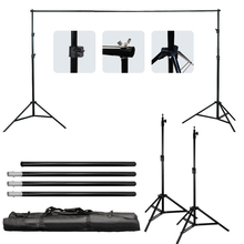 Good quality 2.6M X 3M Pro Photography Photo Backdrops Background Support System Stands For Photo Video Studio + carry bag