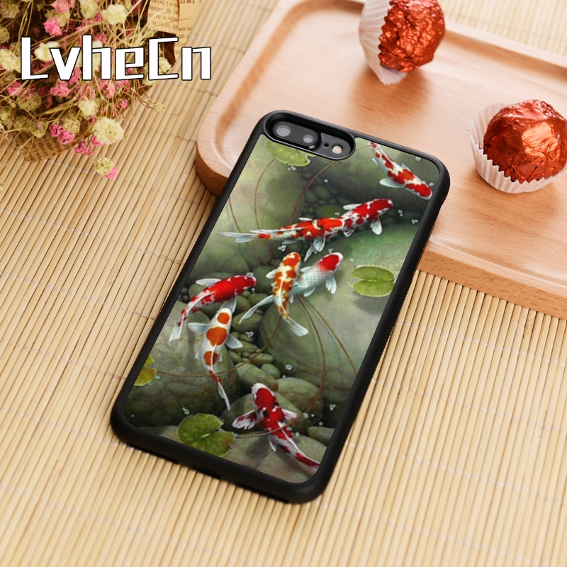 Cellphones & Telecommunications Phone Bags & Cases Clever Lvhecn Classic Art Carp Koi Newest Phone Case Cover For Iphone 4 5s 6 6s 7 8 Plus 10 X Samsung Galaxy S5 S6 S7 Edge S8 S9 Note8