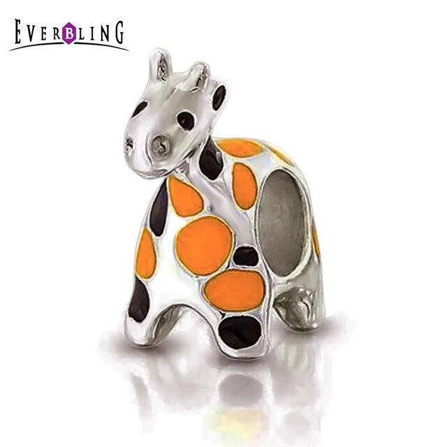 abalorio pandora jirafa
