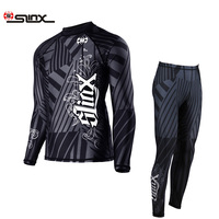 SLINX 1.5MM Lycra Snorkeling Wetsuits Men's Long Sleeve Elastic Anti UV Pullover Shirt Pant Spearfishing Surfing Diving Wetsuits