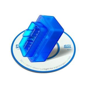 2020 Супер Мини ELM327 Bluetooth V2.1 / V1.5 OBD2 автомобильный диагностический инструмент ELM 327 Bluetooth 4,0 для Android/Symbian OBDII протокол