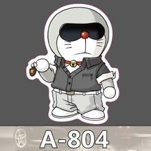 Bevle A-804 Doraemon Wasserdicht Mode Kühle DIY Aufkleber Für Laptop Gepäck Bike Refit Skateboard Auto Graffiti Cartoon Aufkleber