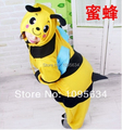 free shipping bee Animal Pajamas Adult Anime Cosplay Costume Unisex Onesie Sleepwear