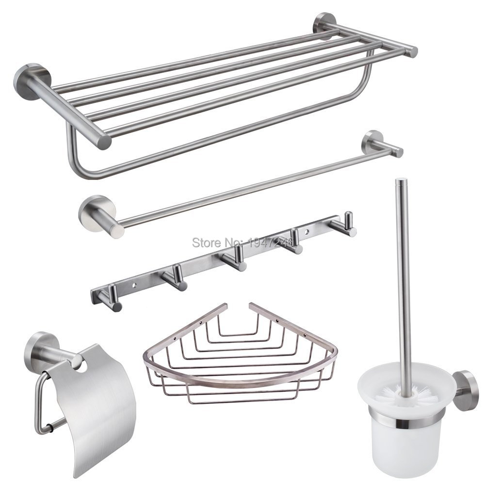 Accessories For The Bathroom Compare Prices On Stainless Steel Bathroom Accessories Set Online