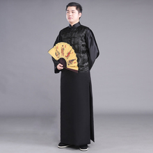 New arrival film and television performance wear Chinese ancient costume male the Qing dynasty clothing