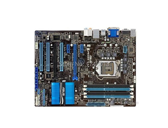 Livraison gratuite origine carte mère pour P8Z68-V LX DDR3 LGA 1155 soutien I3 I5 I7 32 GB Z68 USB 3.0 Z68 Bureau motherborad