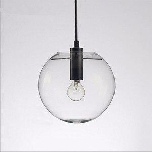 Image 3 - NASN lampe suspendue en verre à la forme dor rose en forme de boule, luminaire dintérieur, idéal pour une cuisine ou une cuisine, E27, LED