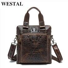 WESTAL Messenger Leather Genuine