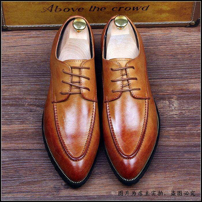 01 Sapatos Britânico Couro Respirável Genuíno Moda Lace Homens 02 03 Up 2018 Dos Maré Mocassins Alta Qualidade De wxg7aS7pq