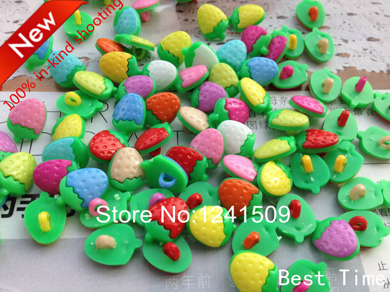 Apparel Sewing & Fabric Charm Strawberry Button 150pcs Multicolor Mixed Resin Cartoon Clown Button Baby Holiday Crafts Sewing Kids Clothing Design Dy13 Arts,crafts & Sewing