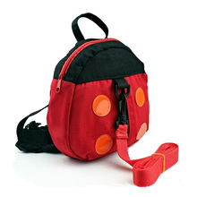 2in1 Ladybird Shaped Keeper Anti Lost Safety Harness Baby Backpack Walk Harness High Quality