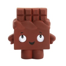 Squishy Toys Slow Rebound Bread Super Slow Rebound Chocolate PU Stress Relief AntiStress Squeeze Toys Scented Poke Squish Gift pu slow rebound jumbo squishy whale toys