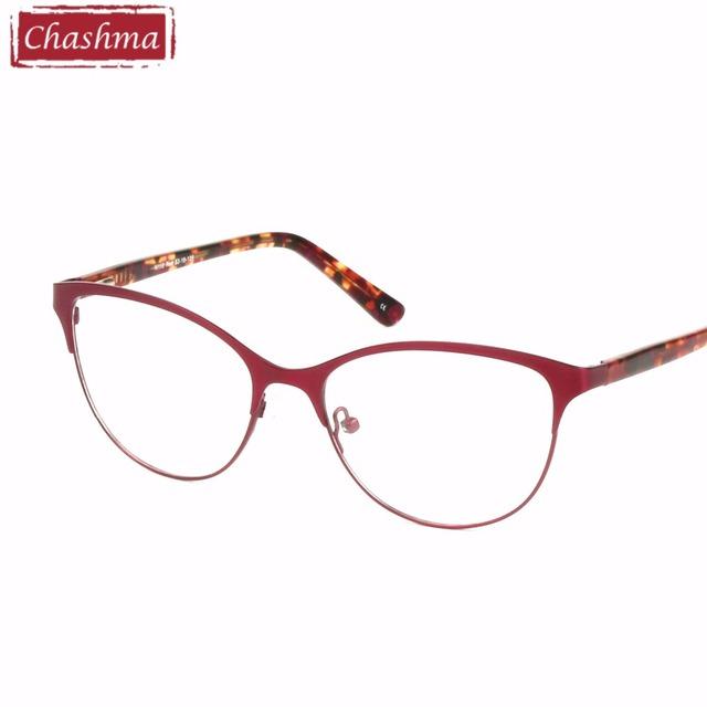 2017 Novos Olhos de Gato Óculos Mulheres de Alta Qualidade Feminino Vidros Ópticos Armações de Óculos