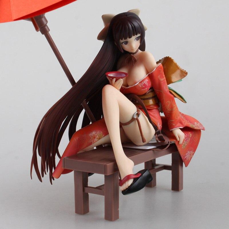 19CM Native Tony Tomoe Nakahara Sexy girl Kimono action figure toys Christmas gift