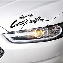 car-styling Competition Pattern Car Sticker For Auto Motorcycle car-covers Rally Reflective 3D Sticker For renault opel vw bmw