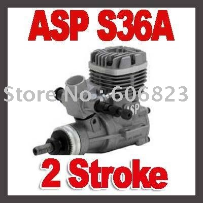 New ASP (Sanye) 2 Stroke S36A Glow Engine for Airplane new