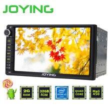 Новейшие РАДУЯСЬ 2 ГБ RAM 32 Г ROM Android 5.1.1 Quad Core Универсальный автомобиль Ради Аудио Стерео GPS Навигации Двойной 2 Din Media Player