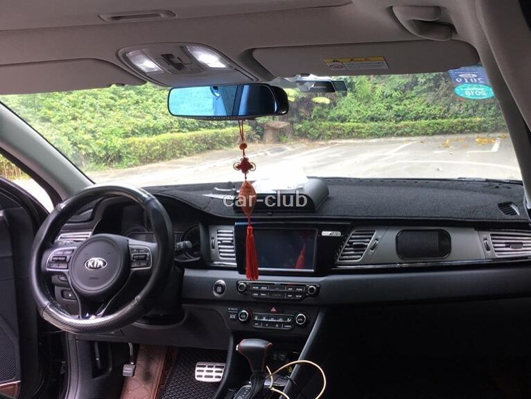 Car Dashmats Car-styling Accessories Dashboard Cover For Kia Niro 2016 2017 2018