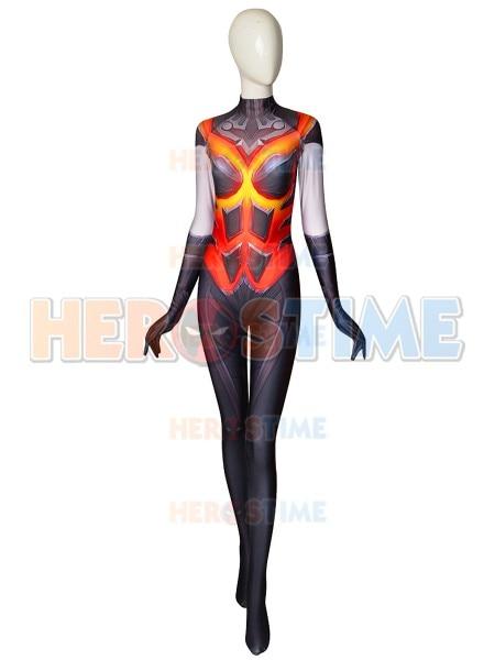 D.Va Cosplay Costume 3D Printing D.Va Game Cosplay Superhero Costume Lycra Spandex Zentai Halloween Bodysuit Custom Made