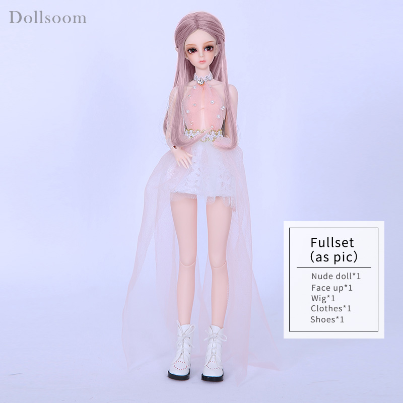 Image 5 - Dollsoom Asis BJD Dolls 1/6 Pretty Slim Fairies Wings Option Toy  For Girls Best Unique Birthday Gift Moonlight Sprite Mini GemDolls   -