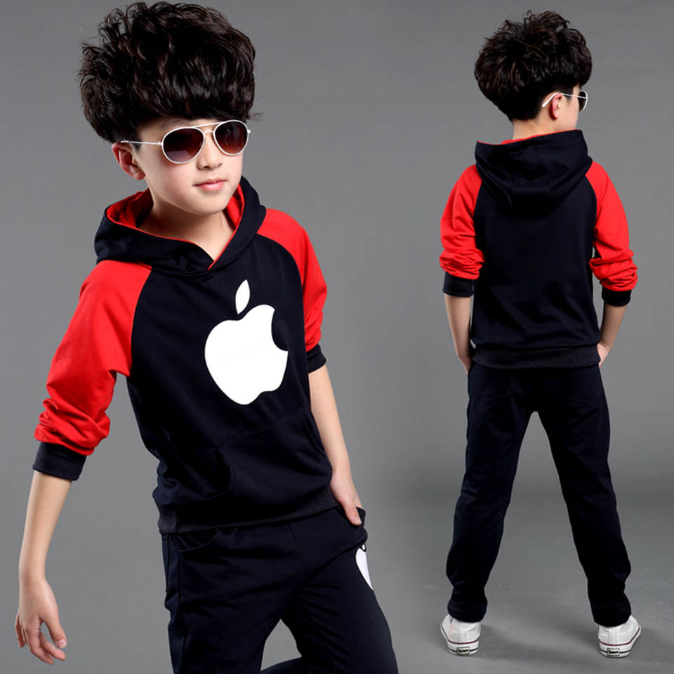Novas chegadas primavera conjunto de roupas infantis moda agasalho para meninas meninos esportes terno roupas infantil menino conjuntos