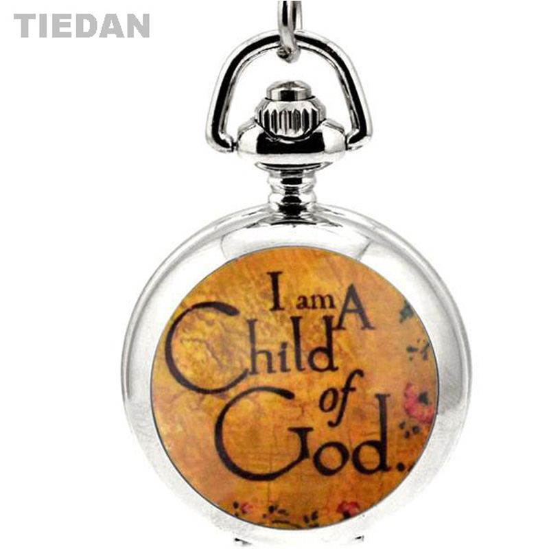 Hot Selling Good Quality Child of God Design Silver Enamel Quartz - Zakhorloge