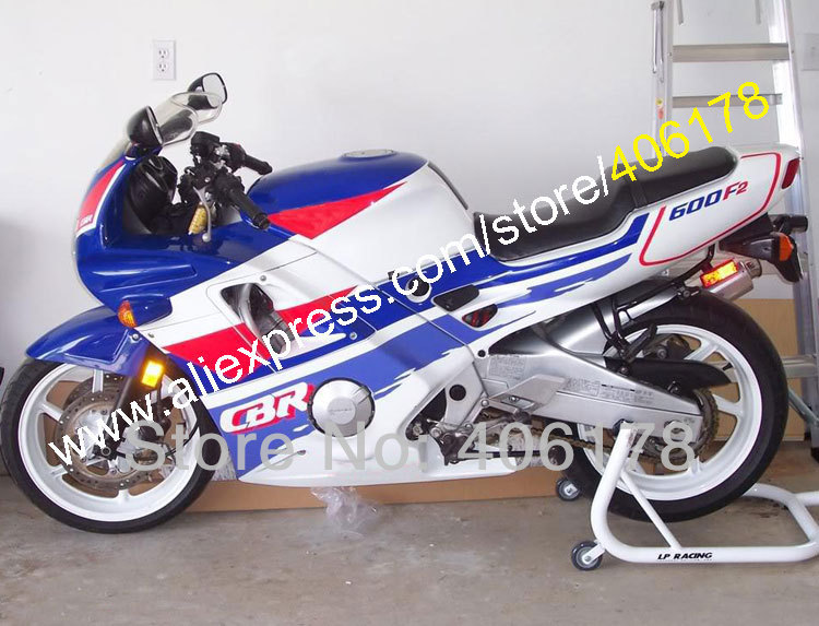 Hot Sales,fairing kit for Honda CBR 600 91 92 93 94 CBR600 1991 1992 1993 1994 F2 fairings Blue white motorcycle parts мото обвесы hjmt 93 94 cbr600 f2 91 94 f2 cbr600 f2