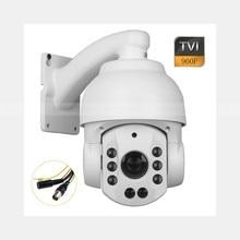 HD-TVI 1.3MP 960P 4″ Mini IR PTZ Speed Dome CCTV Security Camera 20x Zoom