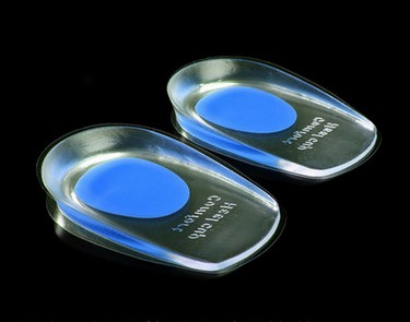 Silicon Gel heel Cushion insoles soles relieve foot pain protectors Spur Support Shoe pad feet care Inserts free shipping health автомагнитола pioneer avh 190g avh 190g