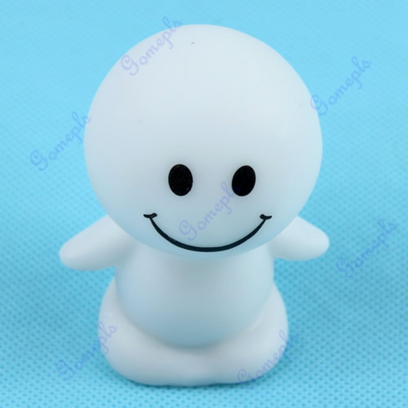 Christmas Cute Sunny Day Dolls LED Novelty Lamp Changing Color Night Light Gift