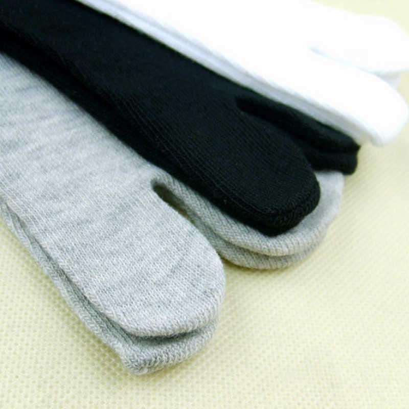 מכירה במבוק סיבי קימונו כפכפים גרבי הבוהן גברים נשים סנדל פיצול Ninjia יפני יוניסקס שני גרבי אצבע Dropshipping