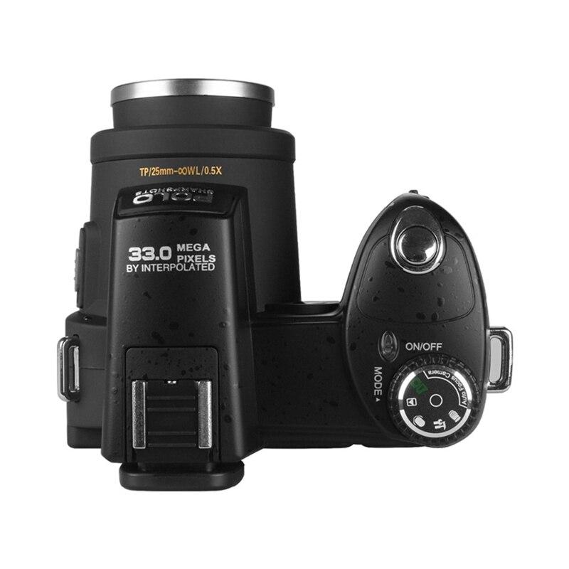 2018 HD JOZQA POLO D7300 appareil photo numérique 33 millions de pixels Auto Focus professionnel appareil photo vidéo reflex 24X Zoom optique 3 objectif HD - 3