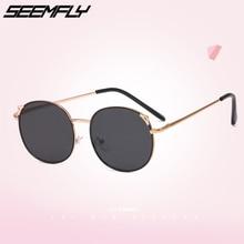 ╬ Seemfly Детские Симпатичные Уши Солнцезащитные Очки Марка Дизайнер Детские Солнцезащитные Очки
