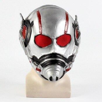 Ant Uomo Maschera di Antman Costume Resina Ant-man Casco Cosplay Maschera di Halloween Mascara Maschere Batman Iron Man Casco