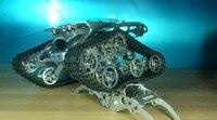 RC металлический Танк шасси робот гусеничный автомобиль