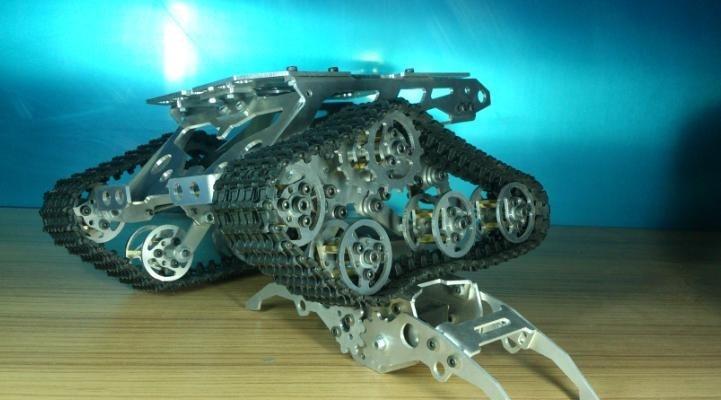 VertrauenswüRdig Rc Roboter Tank Auto Chassis Crawler Für Arduino Verfolgt Raupe Track Kette Fahrzeug Mobile Plattform Traktor Diy Rc Spielzeug Rc-panzer