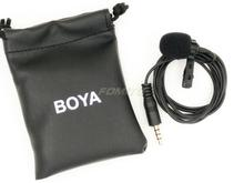 BOYA BY-LM10 Omnidirectional Lavalier Microphone for iPhone 6 5 4S 4,for Sumsang GALAXY 4 LG G3 HTC one for Smartphone for Ipa'd boya by lm10 by lm10 phone audio video recording lavalier condenser microphone for iphone 6 5 4s 4 sumsang galaxy 4 lg g3 xiaomi