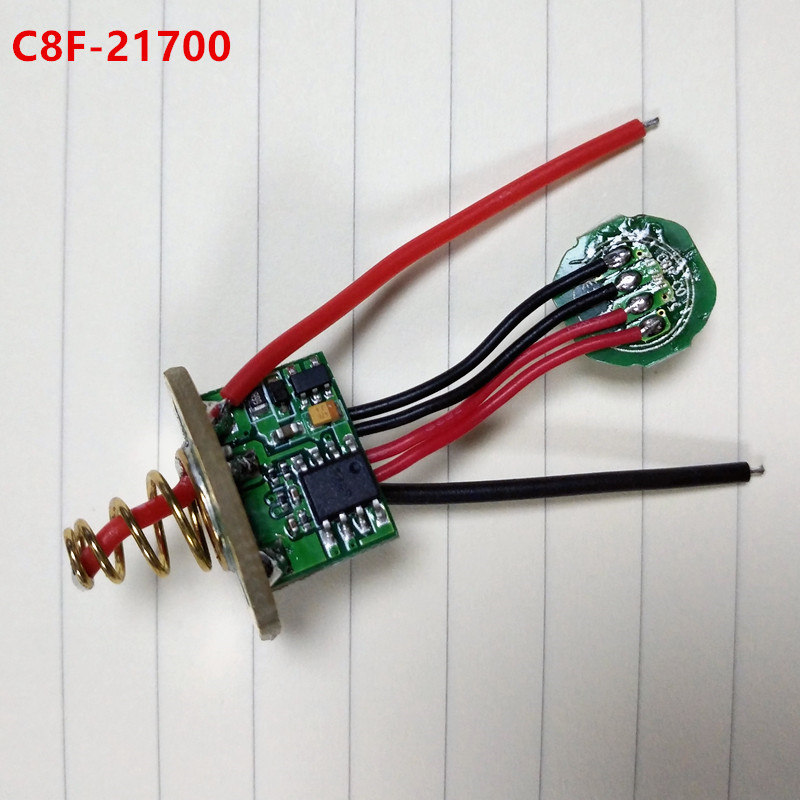 Sofirn Flashlight Driver Circuit Board Anti-reverse LED Driver Chip for different models SP32A C8F SP10A SP31 SP33